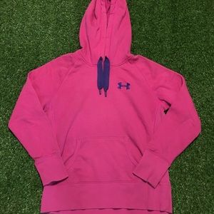 Women's Under Armour UA Storm Pink Sweatshirt Sz S